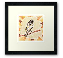 Canary in a Cathouse Framed Print