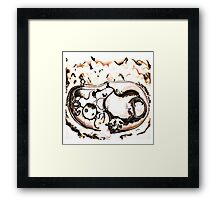 Between Time and Timbuktu Framed Print