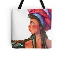 A girl with Turban! Tote Bag