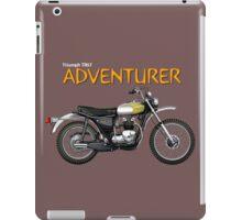 Triumph TR5T Adventurer iPad Case/Skin