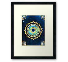 EYE OF HORUS - Eye of Providence - All Seeing Eye, Nazar Framed Print