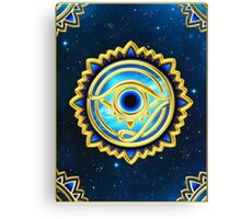 EYE OF HORUS - Eye of Providence - All Seeing Eye, Nazar Canvas Print