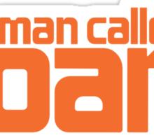 A man called Sloane Sticker