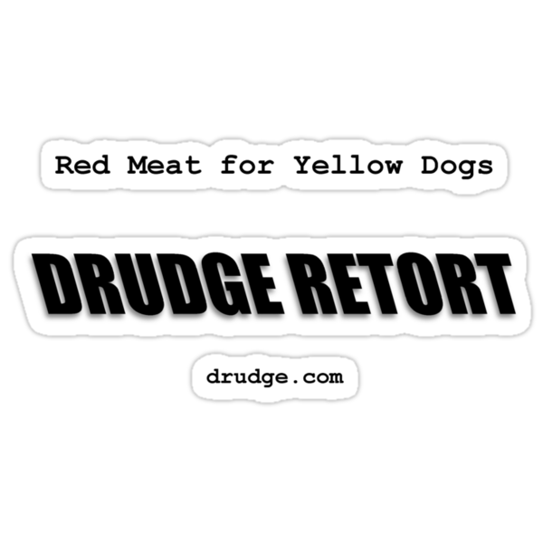 Drudge.com - Red Meat For Yellow Dogs by diculousdesigns