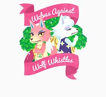 Wolves Against Wolf Whistles Womens Fitted T-Shirt