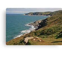 Rockham Bay & Bull Point, North Devon Canvas Print