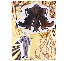 Father Issues (Sigmund Freud) Photographic Print