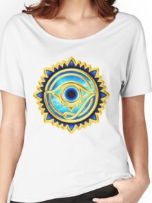 EYE OF HORUS - Eye of Providence - All Seeing Eye, Nazar Women's Relaxed Fit T-Shirt