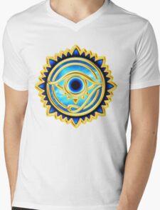 EYE OF HORUS - Eye of Providence - All Seeing Eye, Nazar Mens V-Neck T-Shirt