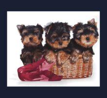 Three Puppy York One Piece - Long Sleeve