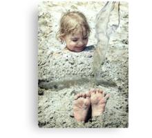 Foot Loose Canvas Print