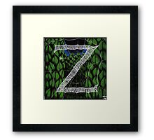 "Zoe the Spider ""Z"" Framed Print"