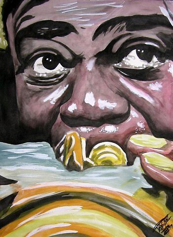 Louis Armstrong by johnnysandler