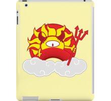 Devils Sun Darkness in Red Rainbow iPad Case/Skin