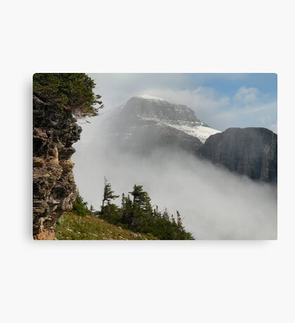 Mount Gould - Glacier National Park, Montana, USA Canvas Print