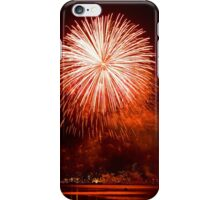 Red Light At Night - Sydney Harbour - New Years Eve - Midnight Fireworks  iPhone Case/Skin