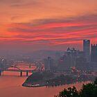 Allegheny River, City of Bridges by Paul Kavsak