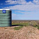 Loo with a View, Willcania, New South Wales, Australia by Adrian Paul