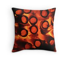 I Fell Into a Burning Ring of Fire Throw Pillow