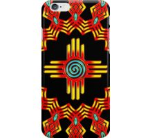 Zia Sun - Zia Pueblo - New Mexico iPhone Case/Skin