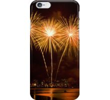 We Three Palms - Sydney Harbour - New Years Eve - Midnight Fireworks  iPhone Case/Skin