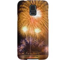 Sunflower Burst - Sydney Harbour - New Years Eve - Midnight Fireworks Samsung Galaxy Case/Skin
