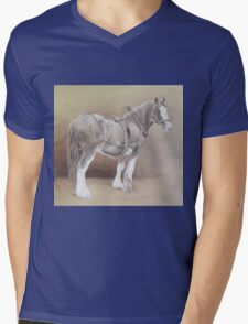 Traditional Cob Mens V-Neck T-Shirt