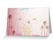 Spring Romance Greeting Card