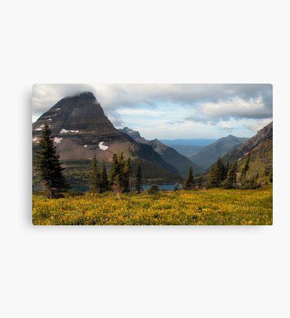 Bearhat Mountain and Hidden Lake - Glacier National Park Canvas Print