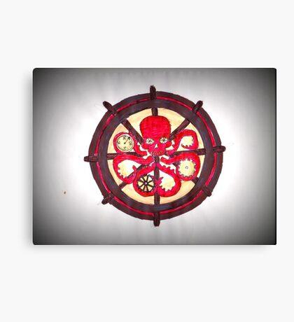 Hail Hydra Logo Canvas Print
