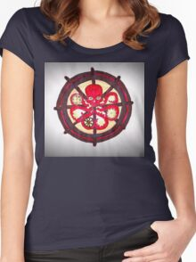 Hail Hydra Logo Women's Fitted Scoop T-Shirt