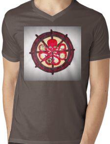 Hail Hydra Logo Mens V-Neck T-Shirt