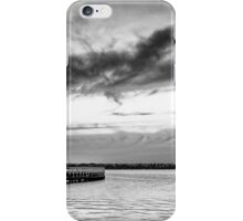 Eastern Beach Mono iPhone Case/Skin