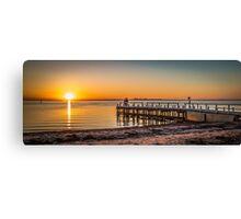Point Richards Sunset Canvas Print