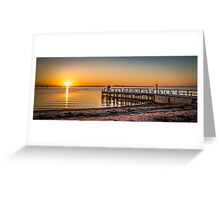 Point Richards Sunset Greeting Card