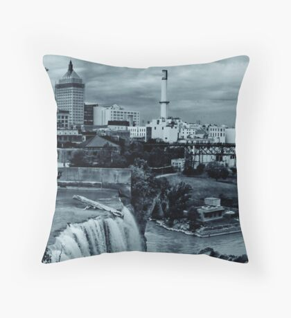 high falls and kodak Throw Pillow
