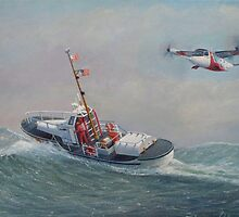 Coast Guard, On The Sea And In The Air by William H. RaVell III