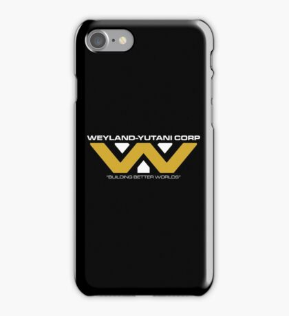 The Weyland-Yutani Corporation Logo iPhone Case/Skin