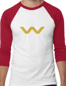 The Weyland-Yutani Corporation Logo Men's Baseball ¾ T-Shirt