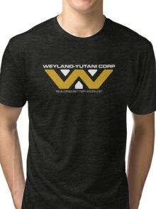 The Weyland-Yutani Corporation Logo Tri-blend T-Shirt