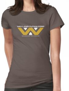 The Weyland-Yutani Corporation Logo Womens Fitted T-Shirt