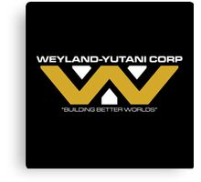 The Weyland-Yutani Corporation Logo Canvas Print