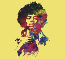 Jimi Hendrix - Psychedelic Kids Clothes