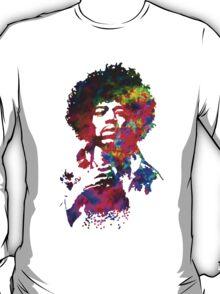 Jimi Hendrix - Psychedelic T-Shirt