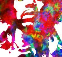 Jimi Hendrix - Psychedelic Sticker