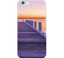 Jetty At Last Light iPhone Case/Skin