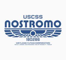 Nostromo - Alien - Prometheus (Clean non-distressed) Baby Tee
