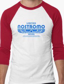Nostromo - Alien - Prometheus (Clean non-distressed) Men's Baseball ¾ T-Shirt