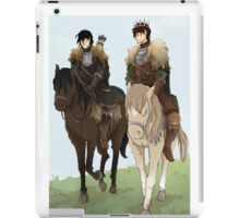 The Kraken and the Young Wolf iPad Case/Skin