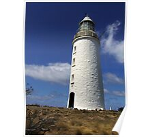 Lighthouse on Bruny Island Poster